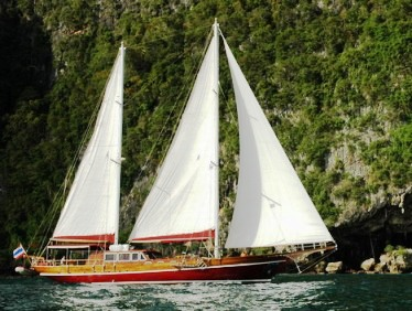 'Lady Anita' classic ketch
